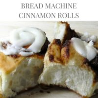 Bread Machine Cinnamon Roll Recipe