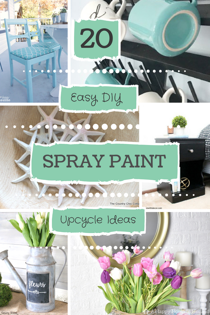 20 Beautiful DIY Spray Paint Furniture & Home Decor Upcyling ...